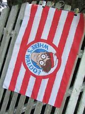 Vintage Where's Waldo Wilma 1990 90s Pillowcase One single standard red white