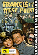 Francis Goes To West Point DVD NEW, FREE POSTAGE WITHIN AUSTRALIA REGION 4