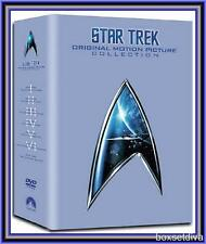 STAR TREK: ORIGINAL MOTION PICTURE COLLECTION 1 - 6 **BRAND NEW DVD BOXSET**