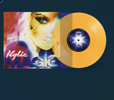 KYLIE MINOGUE - LIMITED EDITION - MAGIC - Yellow Vinyl - 7 INCH SINGLE
