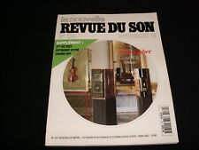 LA NOUVELLE REVUE DU SON<>JUNE 1994<>FRENCH AUDIO MAG.°#179°SONUS FABER SPEAKER