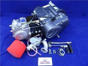 New Lifan 125cc Big Valve Head 4 Speed Manual Pit Bike Engine, Mikuni Carb