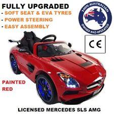 Kids 12V Licensed Mercedes SLS Ride on Car Toy electronic, Remote Children - Red