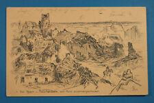 Belgien AK Ypern Passchendaele Passendaale 1915 sign. Egler 1. WWK WWI  BE6