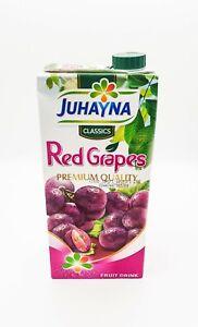 Red Grape juice 1 liter Juhayna x 12