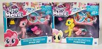 Lot Of 2 My Little Pony The Movie Hasbro Figure Toys Pinkie Pie Fluttershy