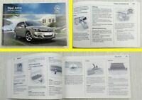 Opel Astra H Limousine Caravan TwinTop Betriebsanleitung Bedienung  8/2009