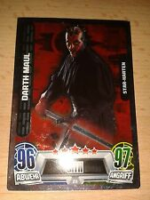 Force Attax Star Wars Serie Movie 2 Star-Karte Nr.211 Darth Maul Sammelkarte