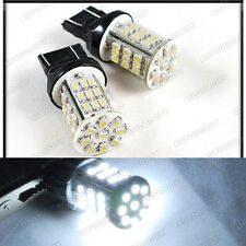 2 x LED Bulbs WHITE 45-SMD 7440 Reverse Backup Light Tail