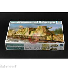 Trumpeter 1/35 01511 German BP-42 Kanonen & Flakwagen Model Kit