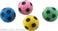 SPONGE SOCCER BALLS 4-PACK Soft Sponge Foam Lightweight Colorful Cat Toys VO1117