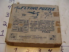 Vintage Puzzle--1928 The FLYING PUZZLE in taped BOX