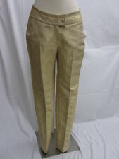 CHRISTIAN DIOR NWT Gold Metallic Pants Size 8 $2390