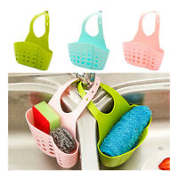 Kitchen Sink Sponge Holder Tap Hanging Strainer Organizer Storage Rack SMART