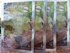 4 Natural Organic Black Ginger Tea Bag Tonic Sexual & Increase physical Strength