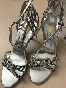 Fancy Woman Shoes Formal Wear Size 8 Zonah's Brand New Low Price