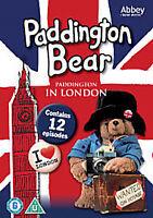 "Paddington Bear ""Paddington In London"" DVD 1976-1987 - 12 Episodes DVD NEW"