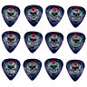 12 Pack DAY DEAD SUGAR SKULL ROSE Medium Gauge 351 Guitar Picks Plectrum