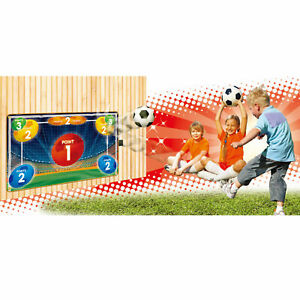 Electronic Kids Soccer Goal Set Musical Play mat w LED Score Board Fun Game Toy