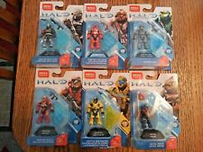 Mega Bloks Halo Heroes Series 8 Complete set of 6 figurers NIB