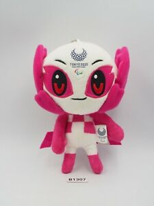 "Tokyo Japan B1307 Olympic Pink 2020 Mascot Keychain Plush 6"" Toy Doll Japan"