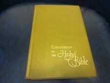 Concordance to the Holy Bible, KJV. H/C   1960