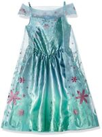 SPECIAL OFFER  DISNEY FROZEN FEVER ELSA  SNOW  QUEEN   FANCY DRESS COSTUME