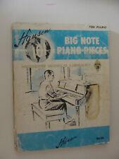 Hansen 101 Big Note Piano Pieces Book 3 1962