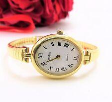 Vintage Ladies Genveve 14K Yellow Gold Watch w/  Sapphire Crystal Classy