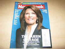 Newsweek Magazine Back Issue Michelle Bachmann Queen of Rage August 15, 2011