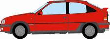 Véhicules miniatures rouge moulé sous pression pour Opel
