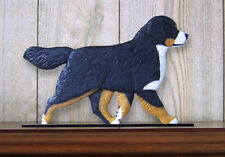 Bernese Mountain Dog Figurine Sign Plaque Display Wall Decoration