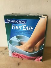 Remington F7009 FOOT EASE Foot Spa Bath Relaxing Massaging With OR Without Water