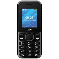 AEG M1220 1.8-INCH UK SIM-FREE MOBILE PHONE WITH BLUETOOTH IN BLACK