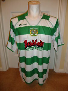 Yeovil Town 2007 - 2009 Home Shirt by Vandanel - BNWT