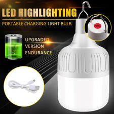 Rechargeable LED Emergency Light Bulbs Portable Camping Tent Hanging Lamp