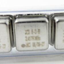 SaRonix JCO8-3-B Quarzoszillator 2,45760MHz +-50ppm 5V 50pF DIL8