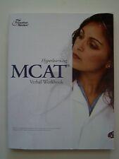 B0042QI140 Hyperlearning MCAT Verbal Workbook (2010)