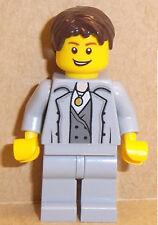 2 X LEGO ® 62810 friends cheveux pour Minifiguren Homme Garçon Noir article neuf