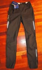 NEW VAUDE WOMEN'S Black Wintry Pants II  Windproof Pro Size 38 Small