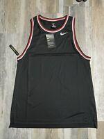 New Nike Dri-Fit Womens Basketball Jersey Tank Top AT3286 Sz LARGE TALL $50