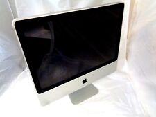 """Apple iMac 20"""" 2007 A1224 MA876LL C2D 2.0GHz 4GB RAM 250GB HD MacOS 10.11.6"""