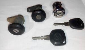 1985-1989 Merkur XR4Ti Ignition Door Lock Set with 2 Keys Ford Sierra Cosworth
