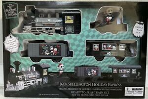 Disney Nightmare Before Christmas Jack Skellington Holiday Express Train Set NEW