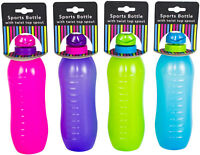 Drinking Sports Bottle With Twist Spout Fitness Gym Bottle BPA Free -  600ml