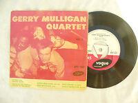 GERRY MULLIGAN QUARTET EP SELF TITLED VOL 3 vogue tri 1017 .....45rpm pop jazz