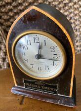 Antique 1929 Seth Thomas Chevrolet Dealers Trophy Mantel Clock 4 Jewels