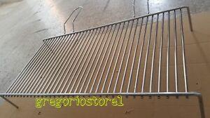 GRATICOLA SINGOLA 70x35cm per BARBECUE FORNACELLA CAMINO GRIGLIA in ACCIAIO