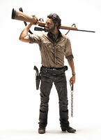 "The Walking Dead AMC Rick Grimes 10"" Deluxe Action Figure NEW!"