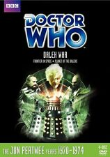 Doctor Who Dalek War Box Set (Planet, Frontier) Region 4 New DVD